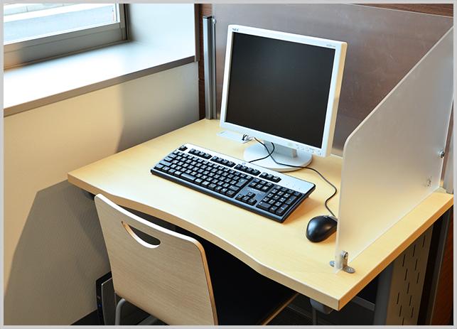 インターネット利用可能なパソコン端末