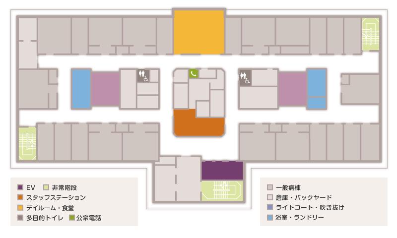 11階フロアマップ