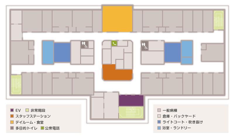 10階フロアマップ